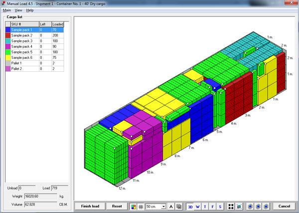 Cargo Optimizer Help file